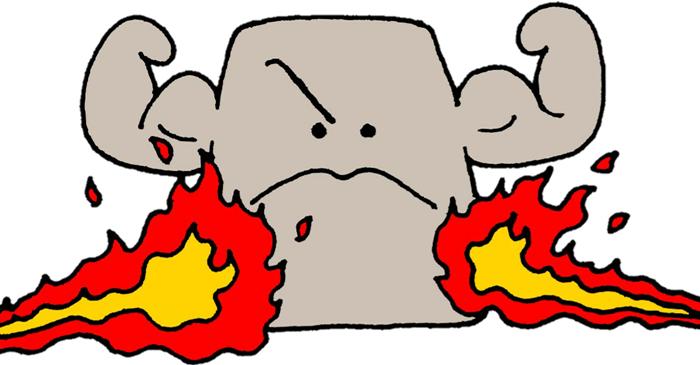 チタン印鑑の耐火性