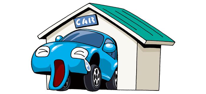 自動車と車庫証明