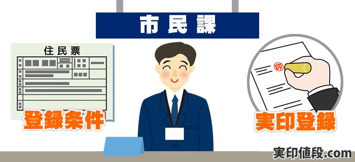 個人が実印登録を行うための資格要件と条件は?